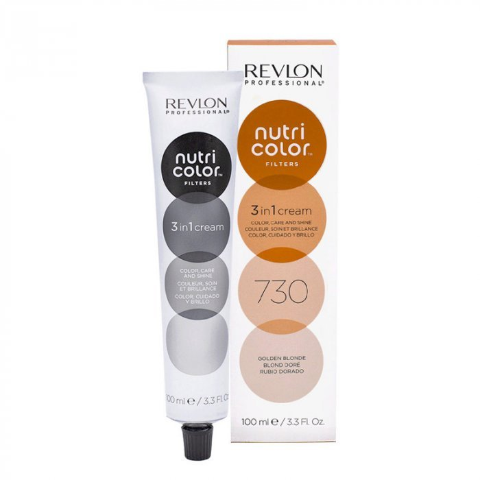 REVLON PROFESSIONAL NUTRI COLOR FILTERS 730 - BIONDO DORATO 100 ml / 3.30 Fl.Oz
