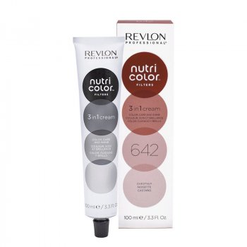 REVLON PROFESSIONAL NUTRI COLOR FILTERS 642 - CASTAGNA 100 ml / 3.30 Fl.Oz