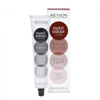 REVLON PROFESSIONAL NUTRI COLOR FILTERS 524 - CASTANO PERLATO RAMATO 100 ml / 3.30 Fl.Oz