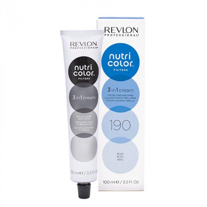REVLON PROFESSIONAL - NUTRI COLOR FILTERS 190 - BLUE 100 ml / 3.30 Fl.Oz