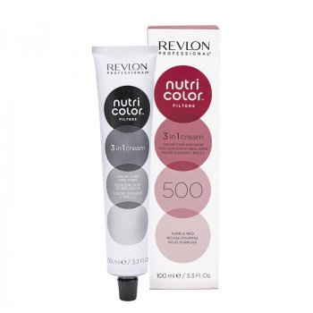 REVLON PROFESSIONAL - NUTRI COLOR FILTERS 500 - ROSSO PORPORA 100 ml / 3.30 Fl.Oz