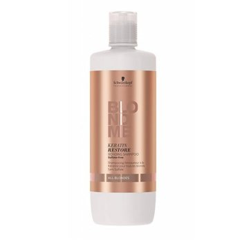 SCHWARZKOPF BLONDME KERATIN RESTORE BONDING SHAMPOO ALL BLONDES 1000 ml / 33.80 Fl.Oz