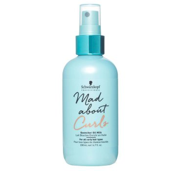 SCHWARZKOPF MAD ABOUT CURLS QUENCHER OIL MILK 200 ml / 6.70 Fl.Oz
