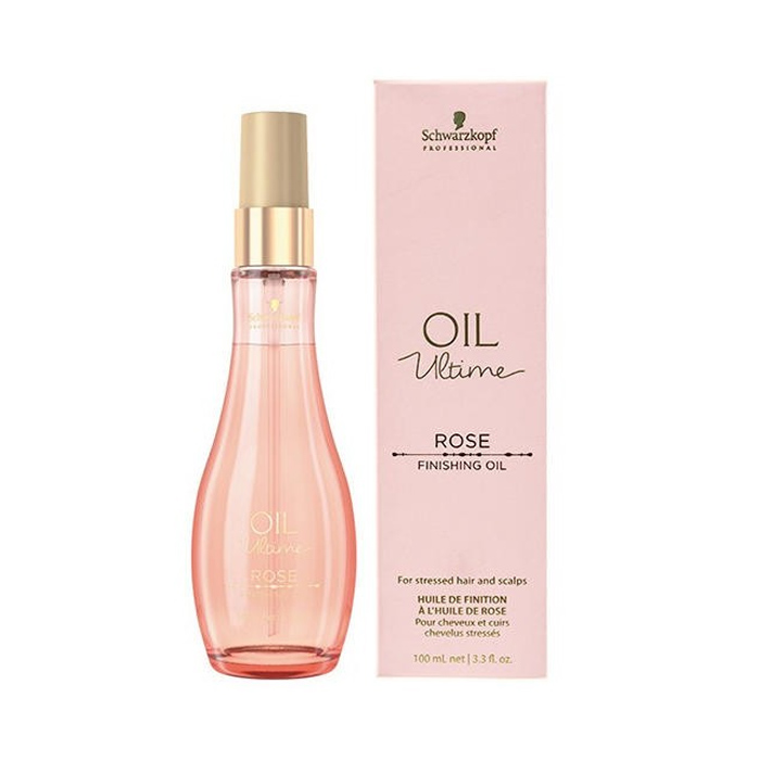 SCHWARZKOPF OIL ULTIME ROSE FINISHING OIL 100 ml / 3.30 Fl.Oz