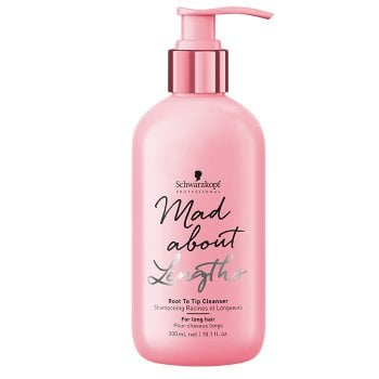 SCHWARZKOPF MAD ABOUT LENGTHS ROOT TO TIP CLEANSER 300 ml / 10.10 Fl.Oz
