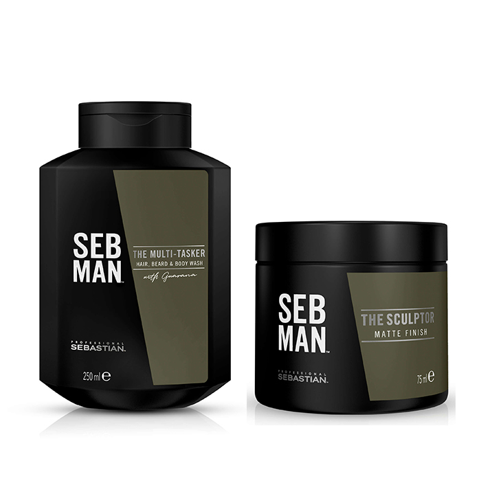 SEBASTIAN MAN THE HAIR KIT