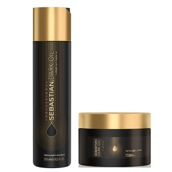 SEBASTIAN - DARK OIL KIT SHAMPOO-MASK