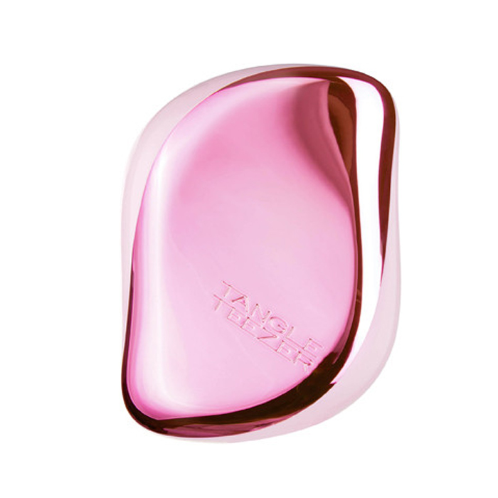 TANGLE TEEZER COMPACT STYLER BABY CHROME PINK