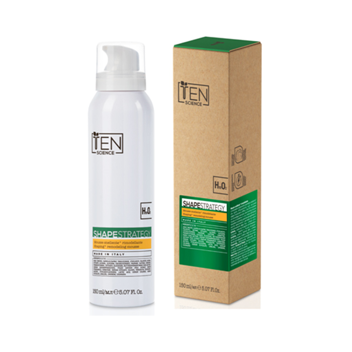 TEN SHAPE STRATEGY SHAPING REMODELING MOUSSE 150 ml / 5.07 Fl.Oz