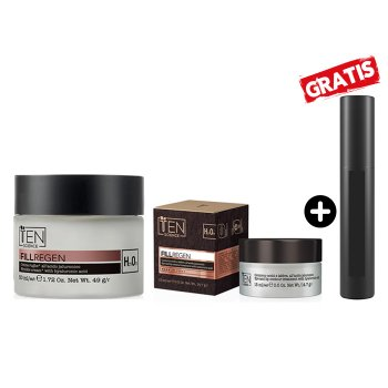 TEN FILL REGEN CREAM 50 ml E EYE LIP 15 ml - MASCARA IN OMAGGIO