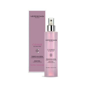 VERDEOASI CLEANSE TONICO ALLA ROSA 200 ml / 6.80 Fl.Oz
