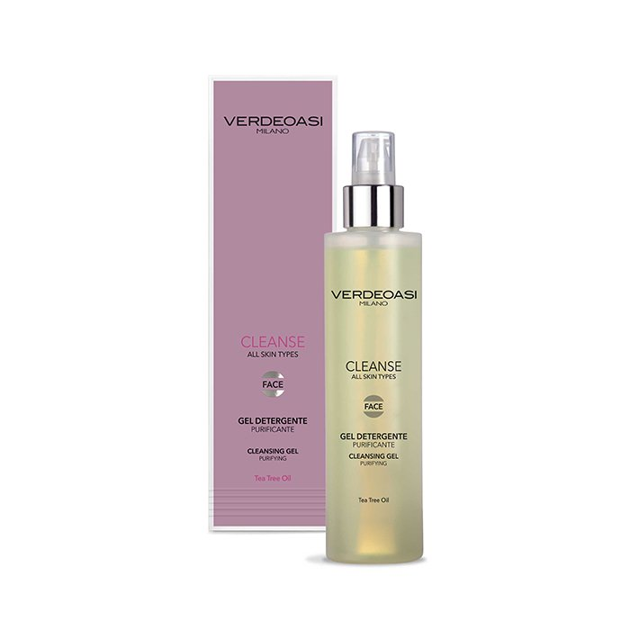 VERDEOASI CLEANSE GEL DETERGENTE PURIFICANTE 200 ml / 6.80 Fl.Oz