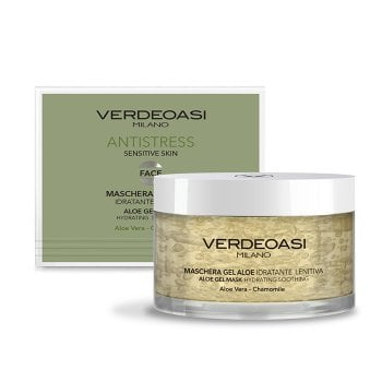 VERDEOASI ANTISTRESS MASCHERA GEL ALOE 200 ml / 6.80 Fl.Oz