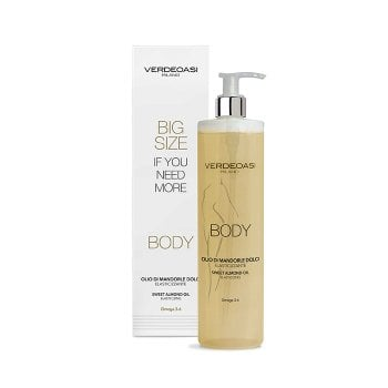 VERDEOASI BODY OLIO DI MANDORLE 500 ml / 16.90 Fl.Oz
