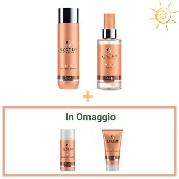 KIT WELLA SYSTEM PROFESSIONAL SOLAR - TRAVEL