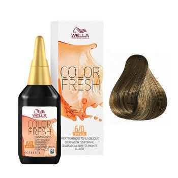 WELLA COLOR FRESH 6/0 - BIONDO SCURO 75 ml / 2.55 Fl.Oz