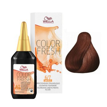 WELLA COLOR FRESH 6/7 - BIONDO SCURO SABBIA 75 ml / 2.55 Fl.Oz