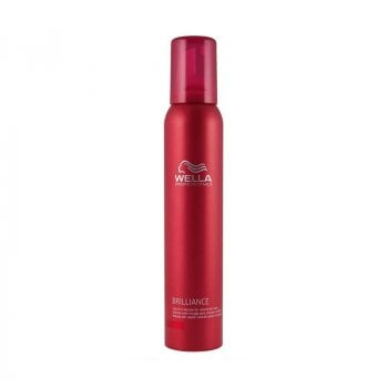 WELLA BRILLIANCE MOUSSE LEAVE IN 200 ml / 6.76 Fl.Oz
