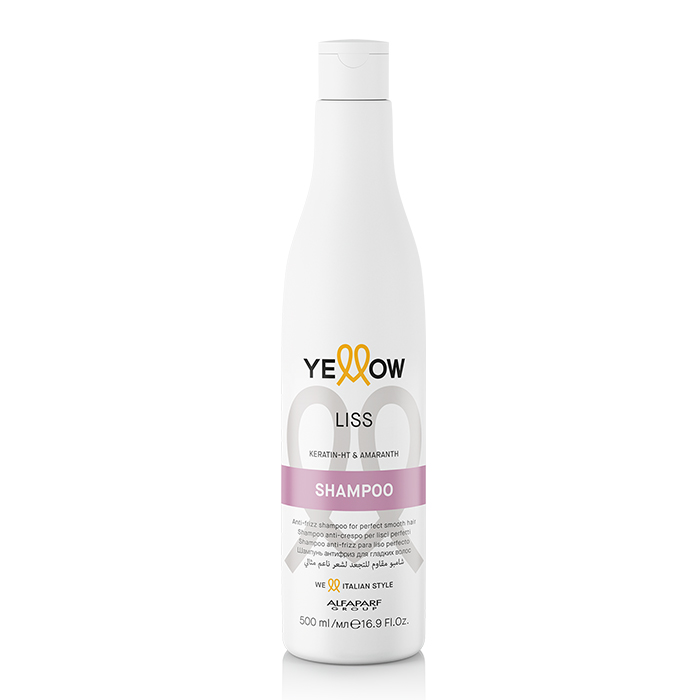 YELLOW LISS SHAMPOO 500 ml / 16.90 Fl.Oz