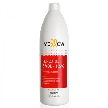 YELLOW COLOR PEROXIDE 5 VOL 1000 ml / 33.80 Fl.Oz