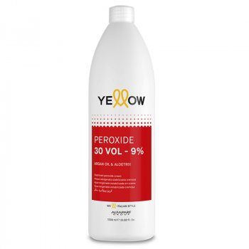 YELLOW COLOR PEROXIDE 30 VOL 1000 ml / 33.80 Fl.Oz