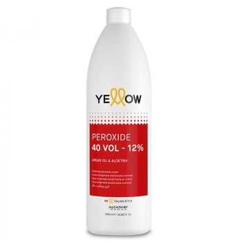YELLOW COLOR PEROXIDE 40 VOL 1000 ml / 33.80 Fl.Oz