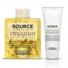 L'OREAL SOURCE ESSENTIELLE DAILY DETANGLING CREAM KIT