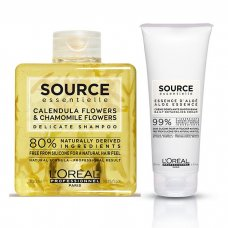 L'OREAL SOURCE ESSENTIELLE DELICATE DETANGLING CREAM KIT