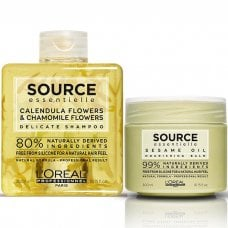 L'OREAL SOURCE ESSENTIELLE DELICATE NOURISHING BALM KIT