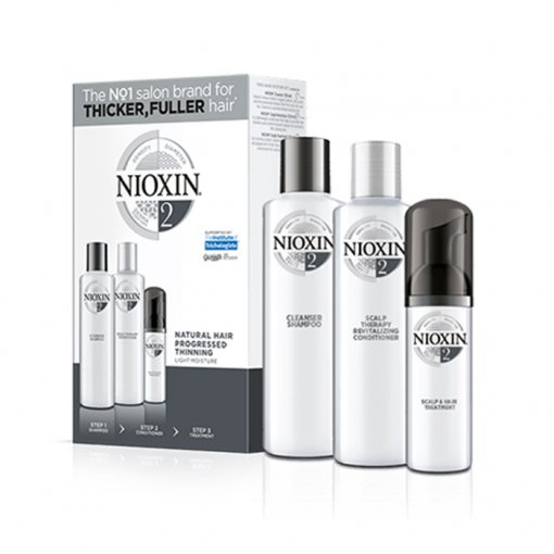 NIOXIN 3D CARE SYSTEM KIT 2 - CAPELLI NATURALI DIRADATI - NATURAL HAIR PROGRESSED THINNING