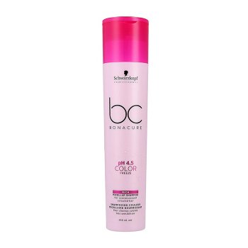 SCHWARZKOPF BC BONACURE PH4.5 COLOR FREEZE SILVER MICELLAR SHAMPOO 250 ml / 8.40 Fl.Oz