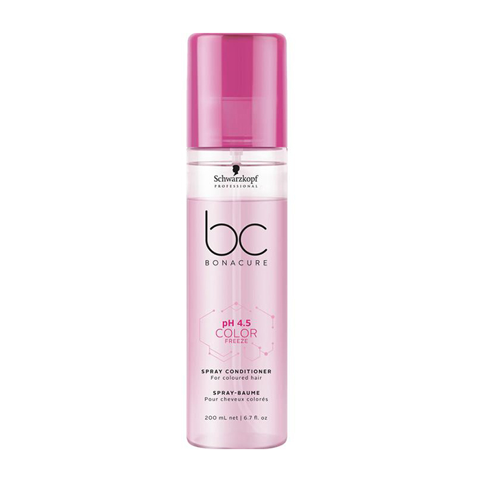 SCHWARZKOPF BC BONACURE PH4.5 COLOR FREEZE SPRAY CONDITIONER 200 ml / 6.70 Fl.Oz
