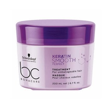 SCHWARZKOPF BC BONACURE KERATIN SMOOTH PERFECT TREATMENT 200 ml / 6.70 Fl.Oz