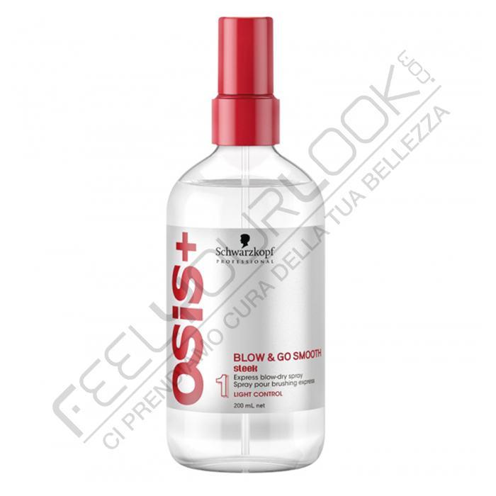 Schwarzkopf Osis Blow Amp Go Smooth Blow Dry Spray 200 Ml