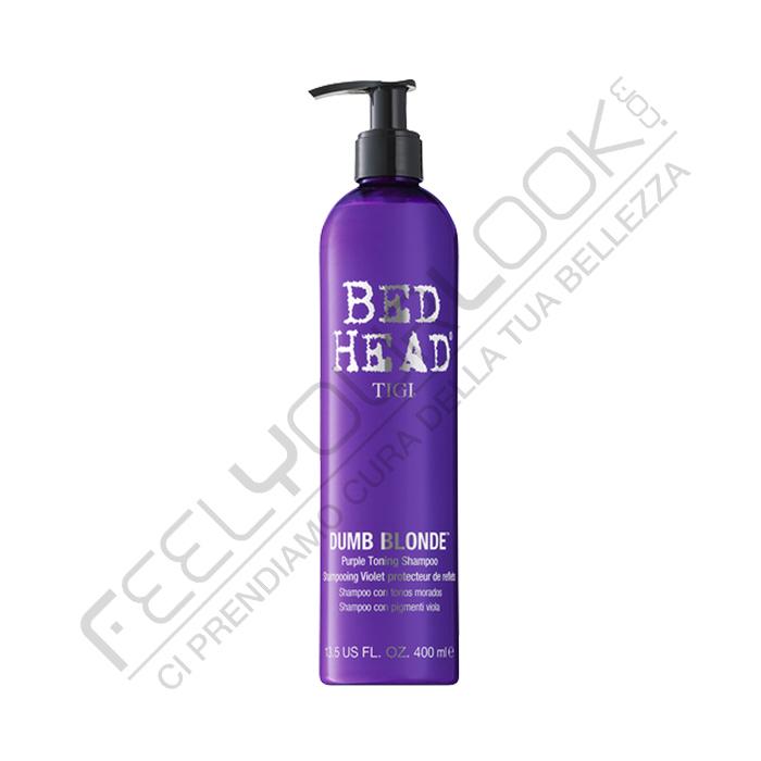 Tigi Dumb Blonde Purple Toning Shampoo 400 Ml 13 52 Fl