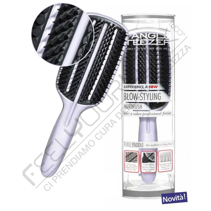 Tangle Teezer Blow Styling Half Paddle Brushes Feel